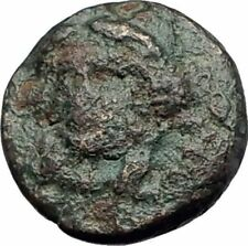 KOLOPHON in IONIA 375BC Rare Authentic Ancient Greek Coin APOLLO & LYRE i64262