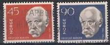 Noorwegen gestempeld 1961 used 460-461 - Fridtjof Nansen (2)