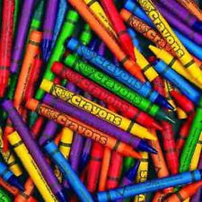 Bulk Crayons, 250 per unit, Crafts Coloring Back to School Children Art Toy.