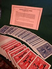 Magical Memories Marked Deck Of Cards Magic Trick Look at photo for Description
