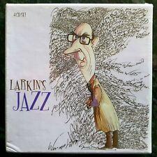 Larkin's Jazz - Various Artists - New Sealed 4 CD Set  Basie Ellington Armstrong
