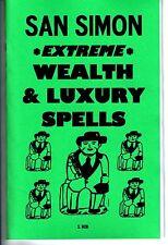 SAN SIMON EXTREME WEALTH & LUXURY SPELLS book by S. Rob occult magick folk saint