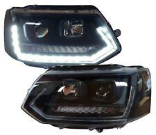 T6-OPTIK SCHEINWERFER VW T5 BUS 09-15 FACELIFT LED LAUF-BLINKER SWV42SLGXBY