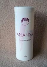 "THE BODY SHOP RARE BRAND ""ANANYA"" PERFUMED BODY POWDER 100 gr"
