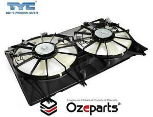 AC + Radiator Thermo Cooling Fan Assembly For Toyota Kluger GSU40 2007~2013