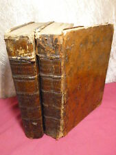 DICTIONNAIRE FRANCAIS,LATIN & ITALIEN Annibal Antonini 2/2 vols in-4