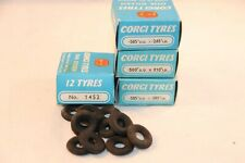 Corgi Toys 4 boxes FULL with Tyres 2x 1450 -1453 and 1452 MIB INCLUDED 48 TYRES