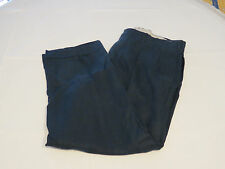 Mens Polo by Ralph Lauren Pant linen 36 X 30 pants slacks navy blue EUC @