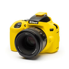 Camera silicone cover for Nikon D3500+ LCD Screen Protector Yellow