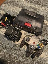 Nintendo 64, N64 System Smoke Gray Console + 1 Smoke Grey Controller + Exp Pak