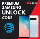 AT&T ATT UNLOCK CODE SERVICE FOR SAMSUNG GALAXY S10 S9 S8 S7 S6 S5 NOTEs ACTIVE