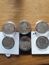 More details for gibraltar 50p coin selection , gibraltar 50p job lot , christmas 50ps .