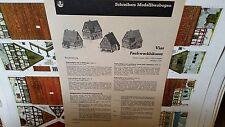 JFS Paper Model Vier Fachwerkhauser 4 Houses
