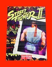 LARGE Street Fighter 2 Arcade Video Game Banner Flag Poster