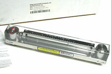 NIB.. King Glass Tube Flowmeter/Rotameter 7430  Cat# 745C209G002423830 .. VH-30
