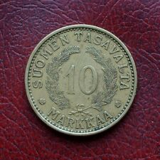 Finland 1932 aluminium-bronze 10 markkaa