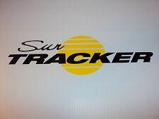 Sun tracker Pontoon Marine Vinyl suntracker boat decals - 44 x 11  yellow sun