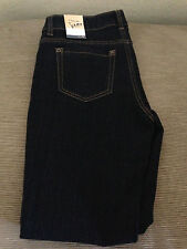 Bean Jeans Premium Women Midnight Dark Pants Size 6 Petite.