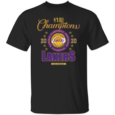 2020 Los Angeles Lakers Basketball Finals Champions Locker Room T-Shirt S-4XL
