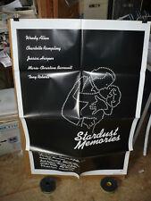 STARDUST MEMORIES, nr mint orig 1-sh / movie poster (Woody Allen)