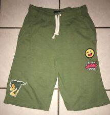 Boys Childrens Place Green Emoji Shorts Size Xl 14