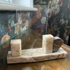 Original Art Deco 1920's Marble Photo Picture Frame