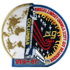 NASA SHUTTLE COLUMBIA STS-87 SPACE  PATCH, New