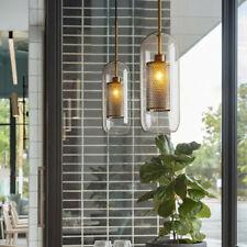 Glass Chandelier Lighting Kitchen Pendant Light Bedroom Ceiling Lamp Bar Lights