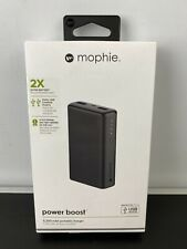NEW - Mophie Power Boost 2X Portable USB Charger Battery Pack Bank - 5200mAh