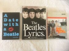 The Beatles Book Lot - 3 Different Books Guide to Beatles London Beatles Lyrics