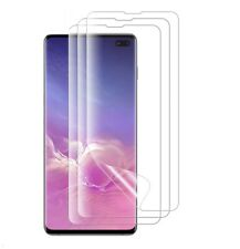 Samsung Galaxy S10 Plus Case Friendly High Transparency Screen Protector 3 Pack