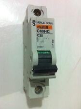 Merlin Gerin Multi 9 C60HC C25 25 AMP CIRCUIT BREAKER