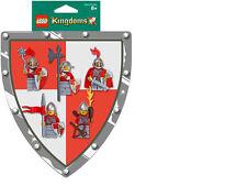 Lego Castle Kingdoms 852921 RED Battle Pack Lion Knights SET 5 minifigures