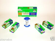 1 Roll FUJI  VELVIA 100--120  size--MEDIUM FORMAT--ULTRA  FRESH--expiry: 05/2019