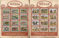 CIOCCOLATO _ NESTLE - CHOCOLATS AU LAIT _ FIGURINE _ serie POISSONS - LES ARMES