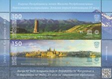 2018 Kyrgyzstan-Malta Joint Issue MNH