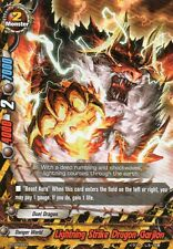 BUDDY FIGHT LIGHTNING STRIKE DRAGON, GARJION 4 CARD LOT