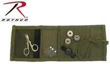 Olive Drab Military Style Sewing Kit With Contents Rothco 1123