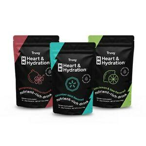 Truvision New Heart and Hydration Plus Energy 3 Packs Weight Loss Fast Shipping