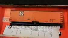 Train Miniature HO Vintage NIB Santa Fe Wood Reefer Kit