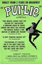 "Robert Guillaume ""PURLIE"" Patti Jo / Sherman Hemsley 1972 Philadelphia Flyer"