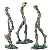 """Kunst Skulptur """"Der Kleine Mann"""" 17 cm Unikat Andreas Loeschner-Gornau"""