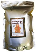 Julia's Pantry Complete Ginger Bread Pancake Mix, Just add Water (5 Lb Bag)