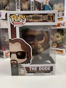 The Dude Big Lebowski   FUNKO POP! Vinyl Movie FUN03387 Minor Box Issue