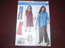 Khaliah Ali ~  Simplicity 2336 Skirt Pants Jacket Dress & Top Pattern Size 10-18