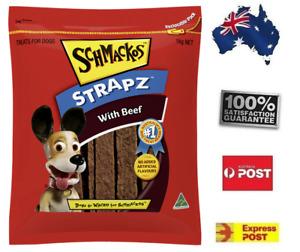 1KG Schmackos Strapz Dog Chews Pet Food Treat Snack FREE POST Friends