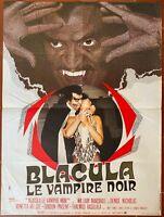 Plakat Blacula Le Vampir Schwarz William Crain William Marshall 60x80cm
