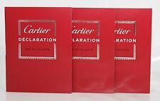 3 Proben Cartier Déclaration EDT Eau de Toilette 1,5ml Spray