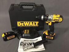 """New DEWALT 20V MAX Cordless 1/2"""" Premium Hammer Drill Driver Kit DCD985L2"""