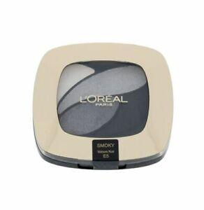 Loreal Color Riche Quad Eyeshadow Velours Noir E5